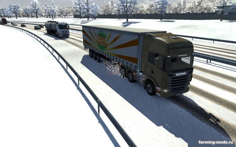 Euro truck simulator мод карт