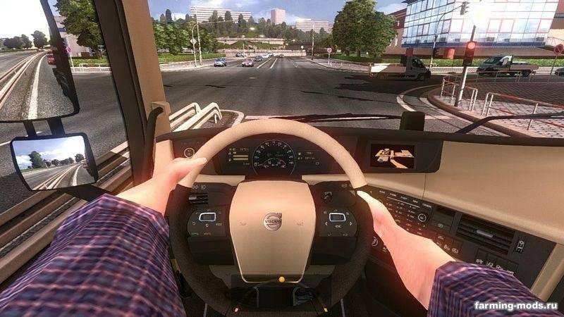 Скачать мод руки на руле для еуро труцк симулатор - 7