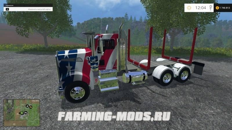 Farming Simulator 2015 Для Перевозки Гравия