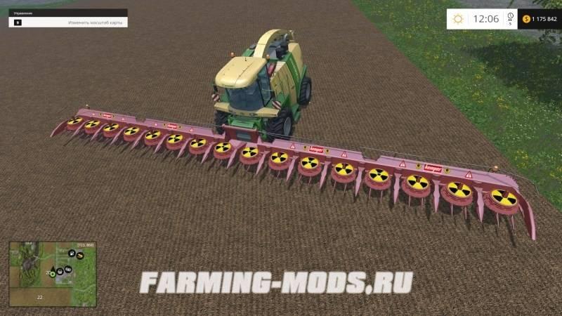 Скачать Мод Большой Жатки Для Farming Simulator 2015 - фото 5