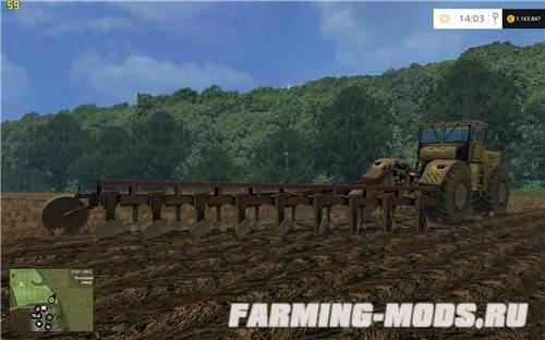 скачать моды на фермер симулятор 2015 на плуг