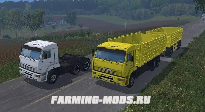 Скачать Мод Пак Камазов Для Farming Simulator 2015