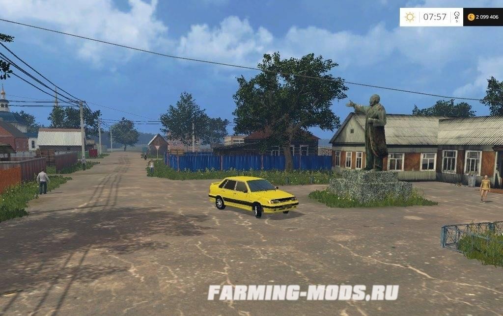 скачать игру Farming Simulator 2015 село полевое через торрент - фото 11