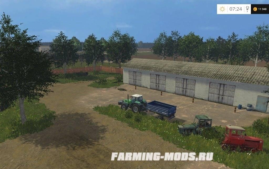 скачать игру Farming Simulator 2015 село полевое через торрент - фото 8