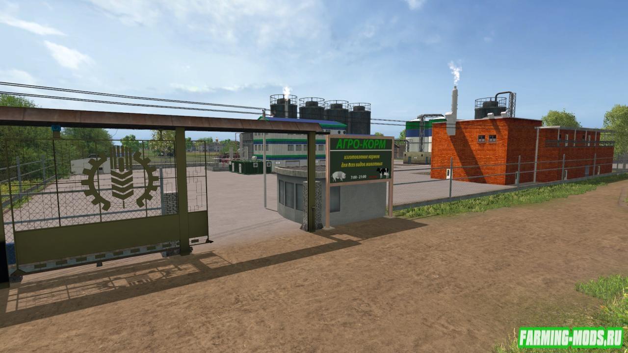 Скачать моды для farming simulator 2017 здания