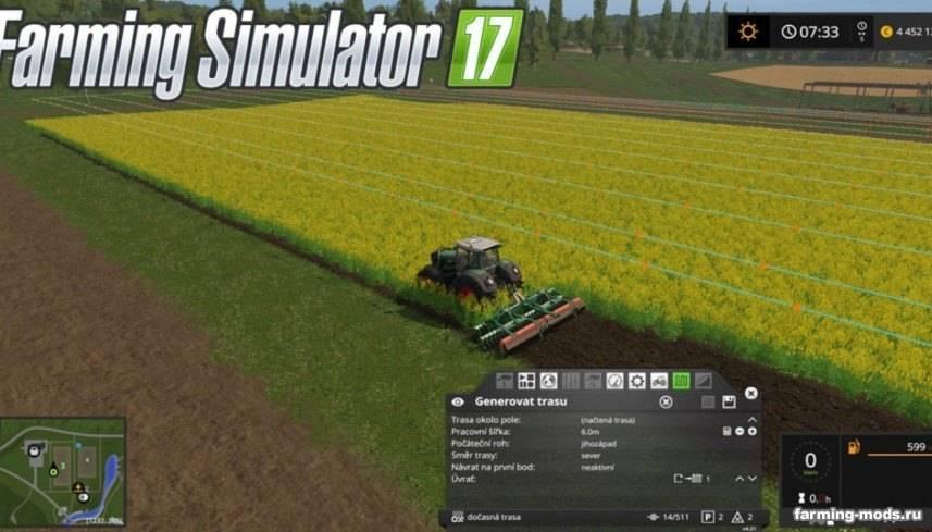 скачать мод на фермер симулятор 2017 курсплей