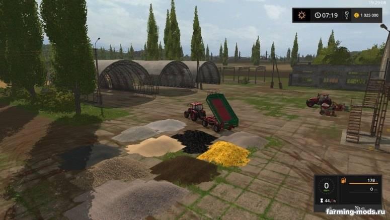 Скачать мод песок для farming simulator 2018