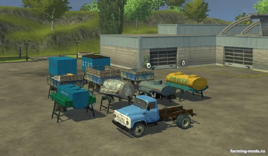 Газ 53 техуход для farming simulator 2013.