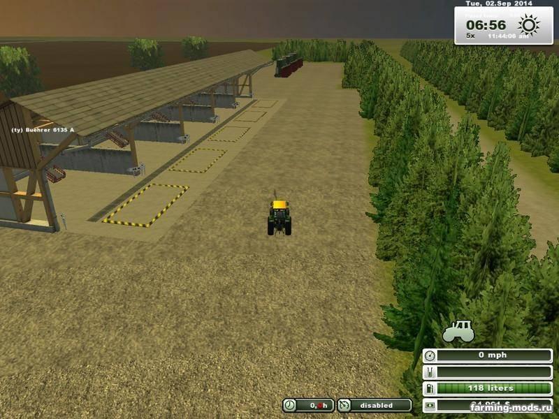 "Мод ""New Map v2.0"" для Farming / Landwirtschafts Simulator 2013"