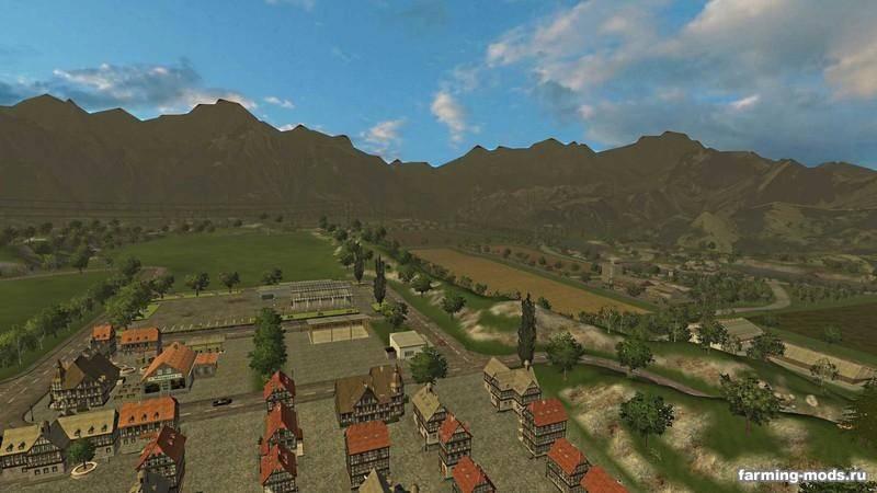 "Мод ""Brunzdorf v3.2 Forstmod"" для Farming / Landwirtschafts Simulator 2013"