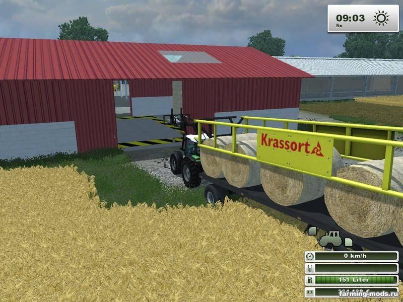"Мод ""Uckerfelde Map v1.2"" для Farming / Landwirtschafts Simulator 2013"