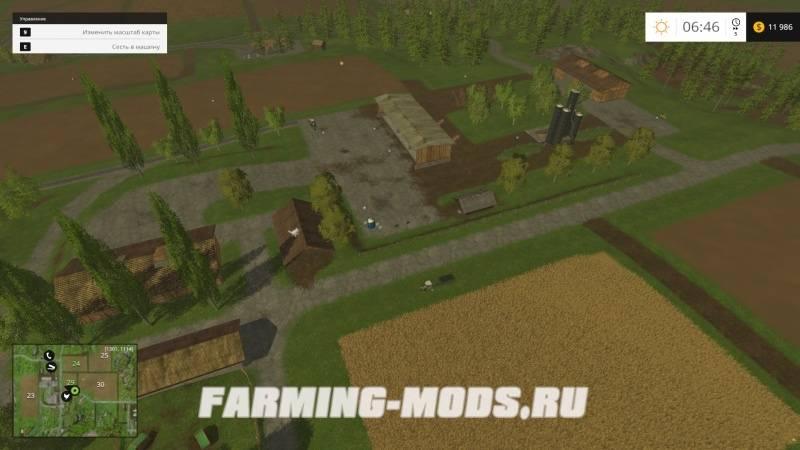 "Мод ""Bojonholm Big Forest v1.0"" для Farming Simulator 2015"