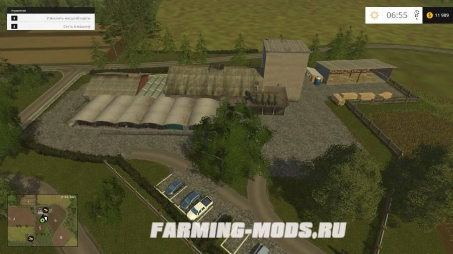 "Мод ""Holzhausen v1.0"" для Farming Simulator 2015"