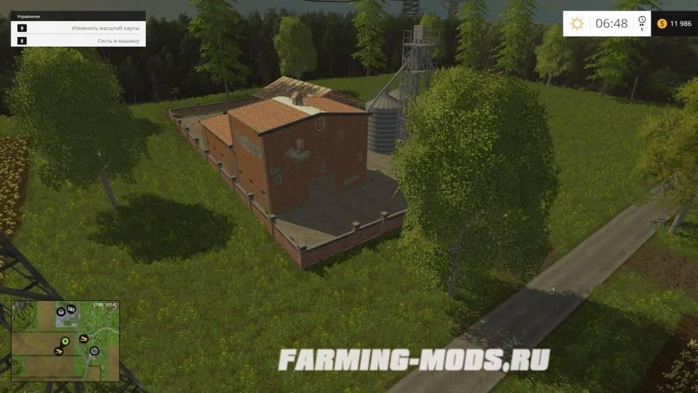"""Мод """"Wroniawy Map v1.0"""" для Farming Simulator 2015"""