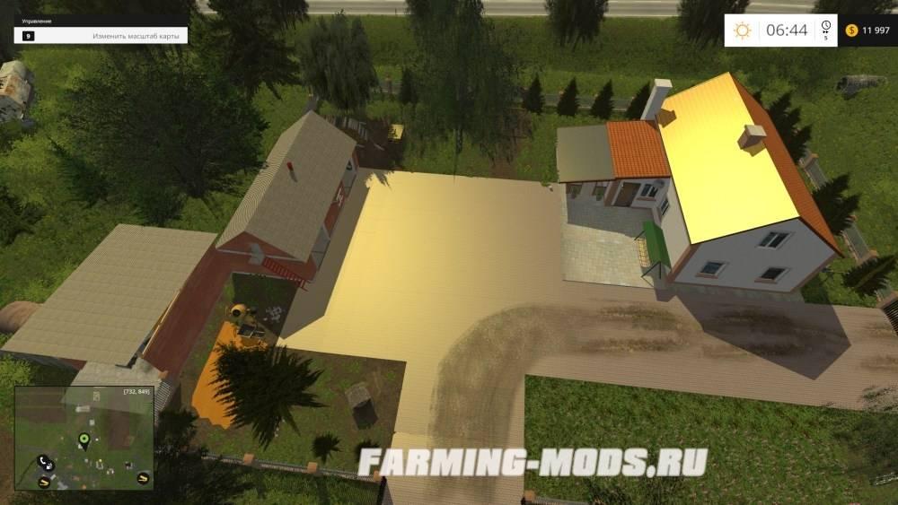 "Мод ""Zimna Wodka v7.1"" для Farming Simulator 2015"