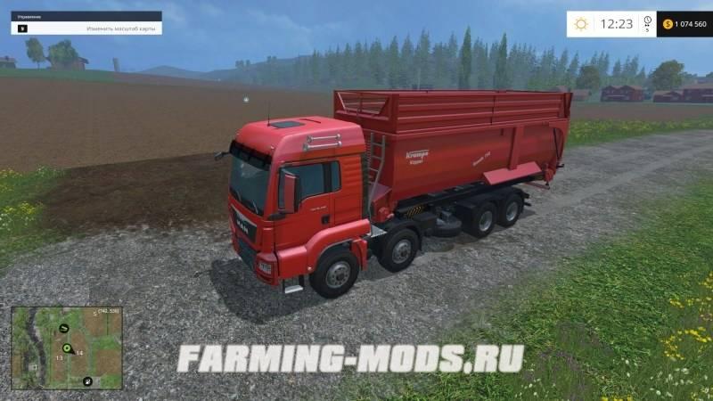 "Мод ""Absetzrahmen Krampe Bandit 750 v1.0"" для Farming Simulator 2015"