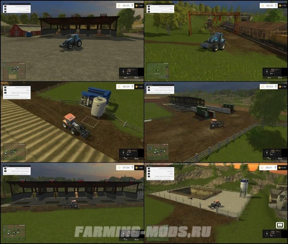 "Мод ""Westbridge Forest"" для Farming /Landwirtschafts Simulator 2015"