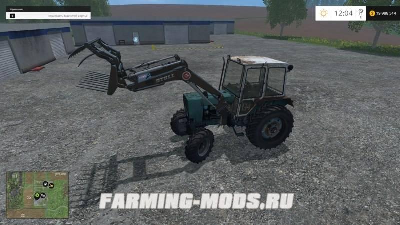 "Мод ""ЮМЗ 4х4 Turbo"" для Farming Simulator 2015"