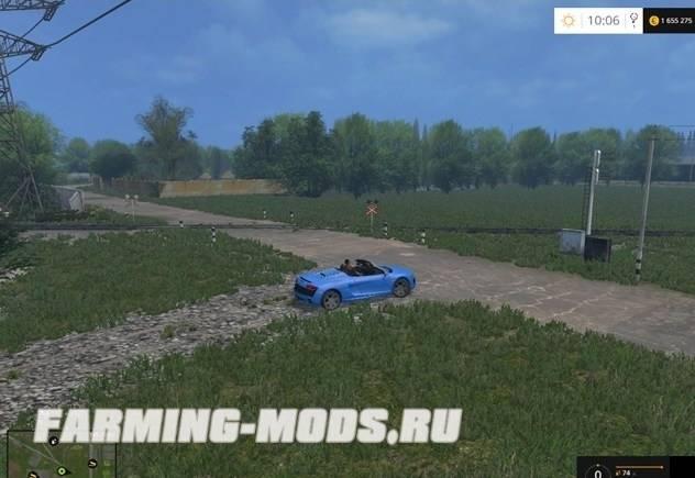"""Мод """"Varvarovka Map v1.7 Multifruit"""" для Farming Simulator 2015"""