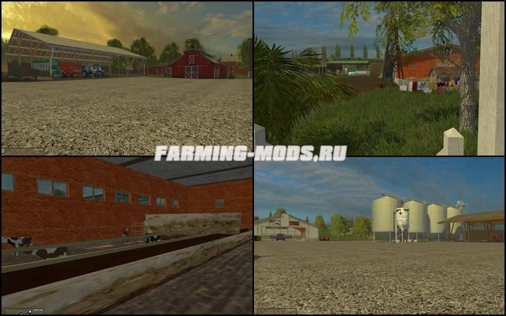 "Мод ""Westbridge Forest v4.0 Final"" для Farming Simulator 2015"