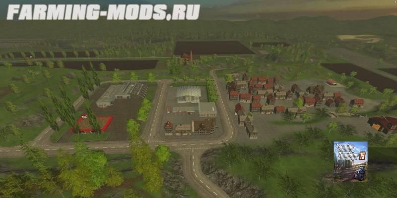 "Мод ""Hagenstedt Modified v3.0 Final"" для Farming Simulator 2015"