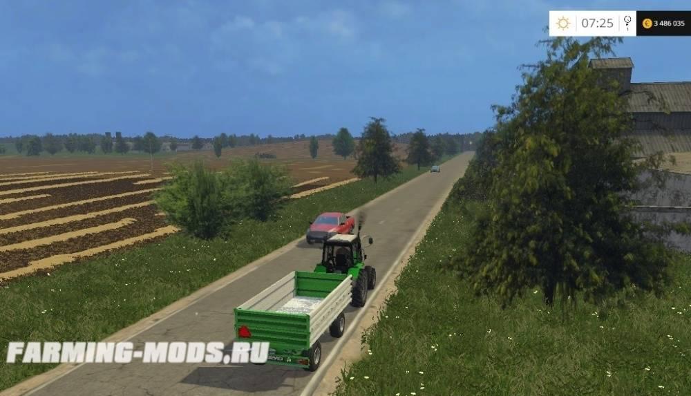 "Мод ""СПК Борки — Агро v2.0"" для Farming Simulator 2015"