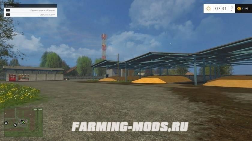 """Мод """"Варваровка"""" для Farming Simulator 2015"""