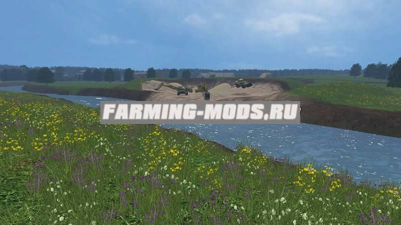 "Мод ""Хасапетовка New Version"" для Farming Simulator 2015"