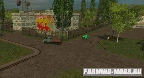 "Мод ""Еленовка v3.2 SoilModEdition"" для Farming Simulator 2015"