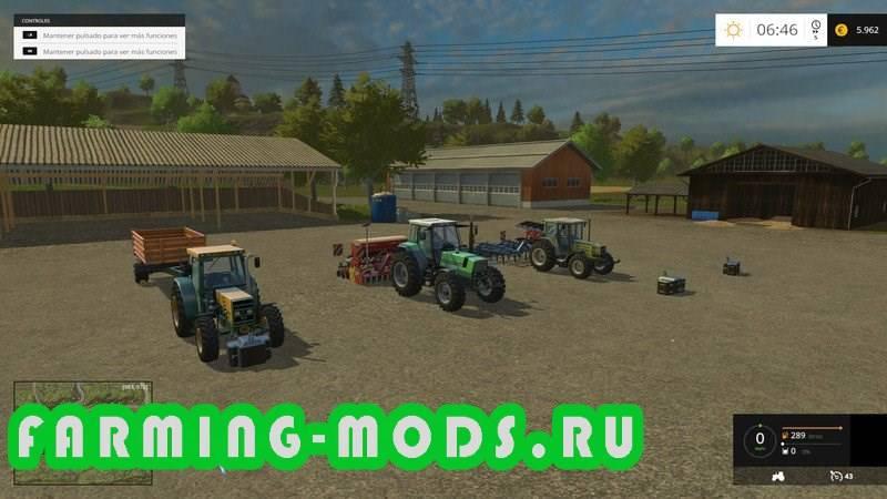 "Мод ""Hagenstedt v6.8.2"" для Farming Simulator 2015"