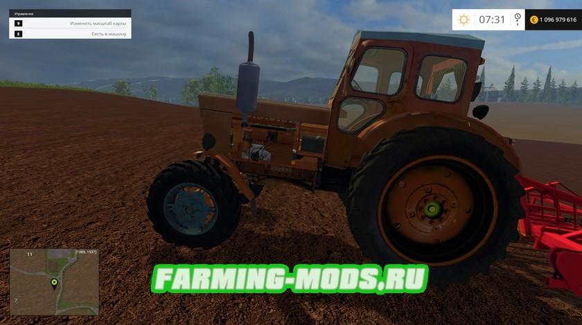 "Мод ""Трактора Т-40М"" для Farming Simulator 2015"