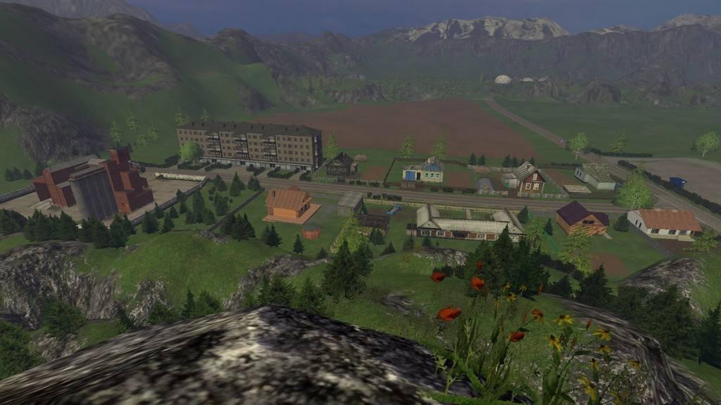 "Мод ""Карта Регион-04 v 2.0"" для Farming Simulator 2015"