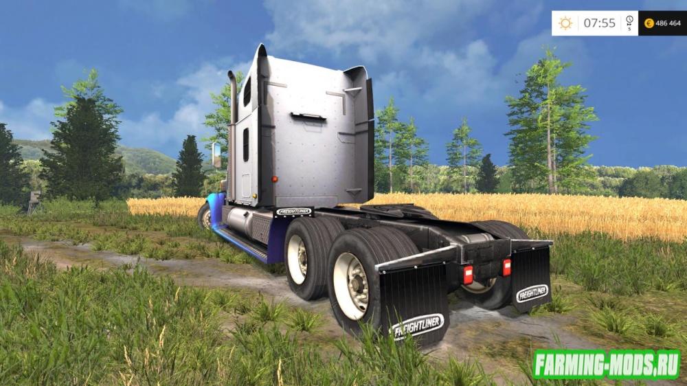"Мод ""Freightliner Coronado v2.5"" для Farming Simulator 2015"