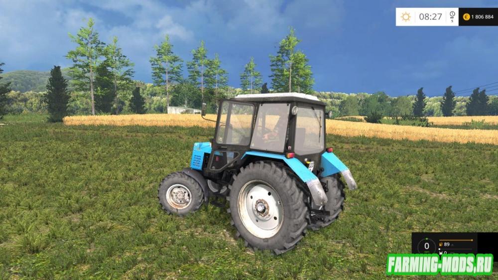 "Мод ""МТЗ MTZ-920 Беларус"" для Farming Simulator 2015"