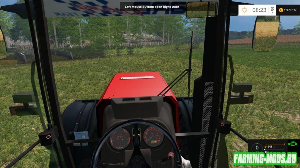 "Мод ""МТЗ 3522 Беларус v1.3 Break Engine"" для Farming Simulator 2015"
