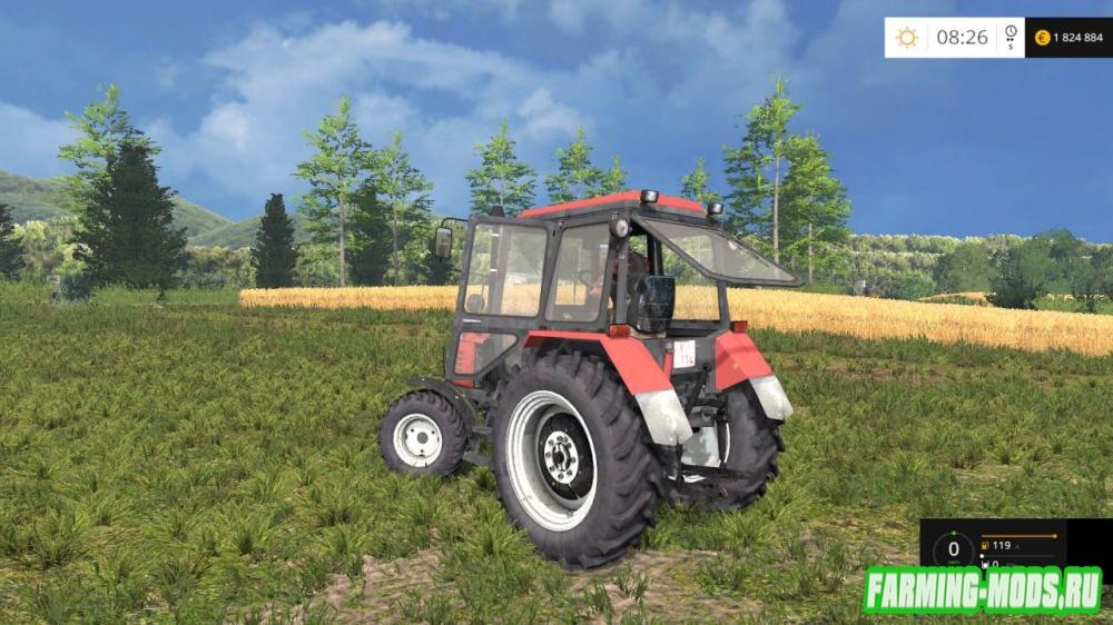 "Мод ""МТЗ-82.1 Беларус  Dainius"" для Farming Simulator 2015"