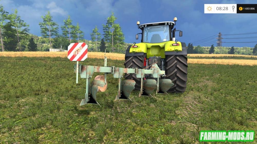 "Мод ""Agrozet 4 v2"" для Farming Simulator 2015"