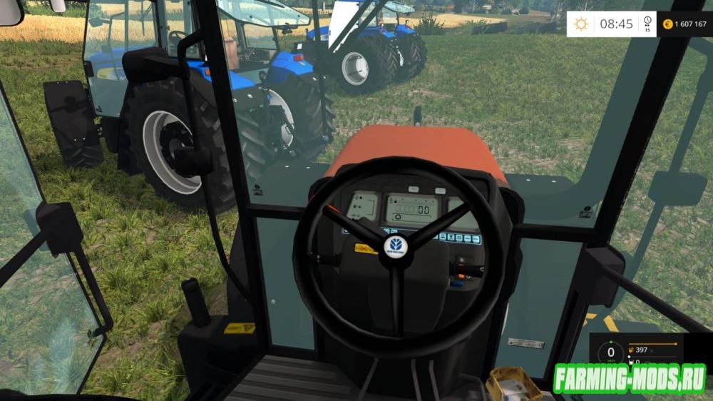 "Мод ""New Holland NH-Pack v1.0"" для Farming Simulator 2015"