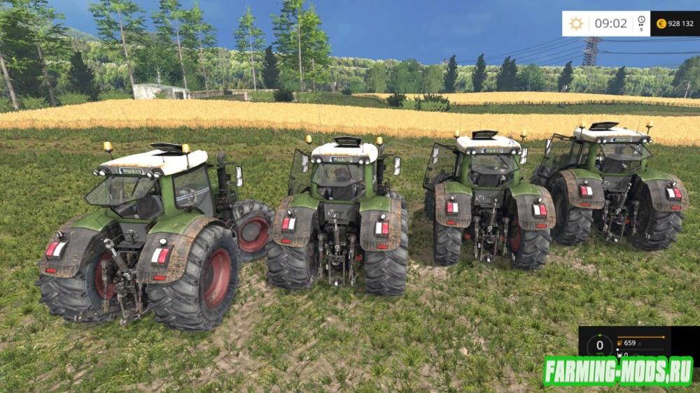 "Мод ""Fendt 936 Vario SCR v 3.1 Pack BugFix"" для Farming Simulator 2015"