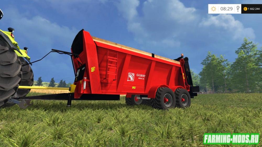 "Мод ""Gilibert Herax 20 v1.1"" для Farming Simulator 2015"