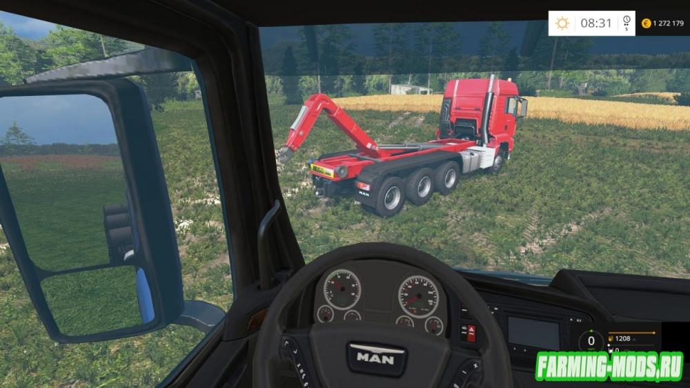 "Мод ""MAN ITRunner Pack v 1.6.5"" для Farming Simulator 2015"