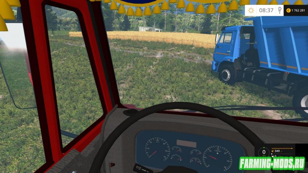 "Мод ""KamAZ-65115 & 6520 Sovok"" для Farming Simulator 2015"