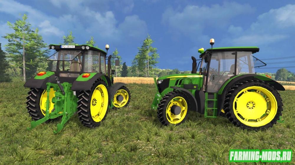 "Мод ""John Deere 6090RC Pack"" для Farming Simulator 2015"