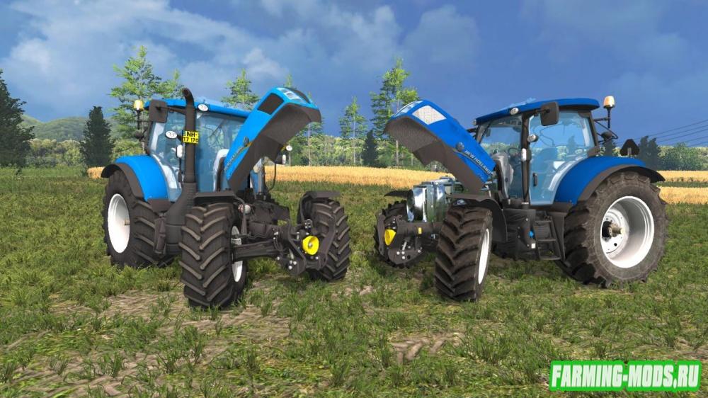 "Мод ""New Holland T7170 v2.0"" для Farming Simulator 2015"