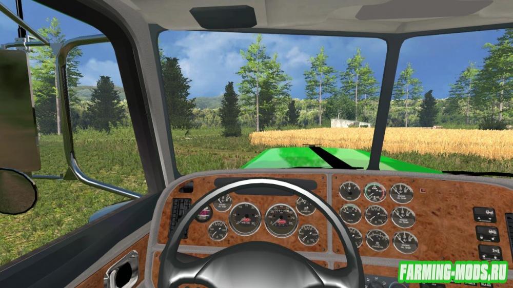 "Мод ""Peterbilt 388 v1.1з"" для Farming Simulator 2015"