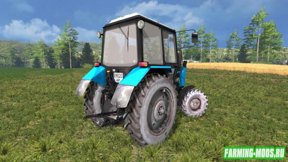 "Мод ""МТЗ 82.1 Беларус v2.1"" для Farming Simulator 2015"