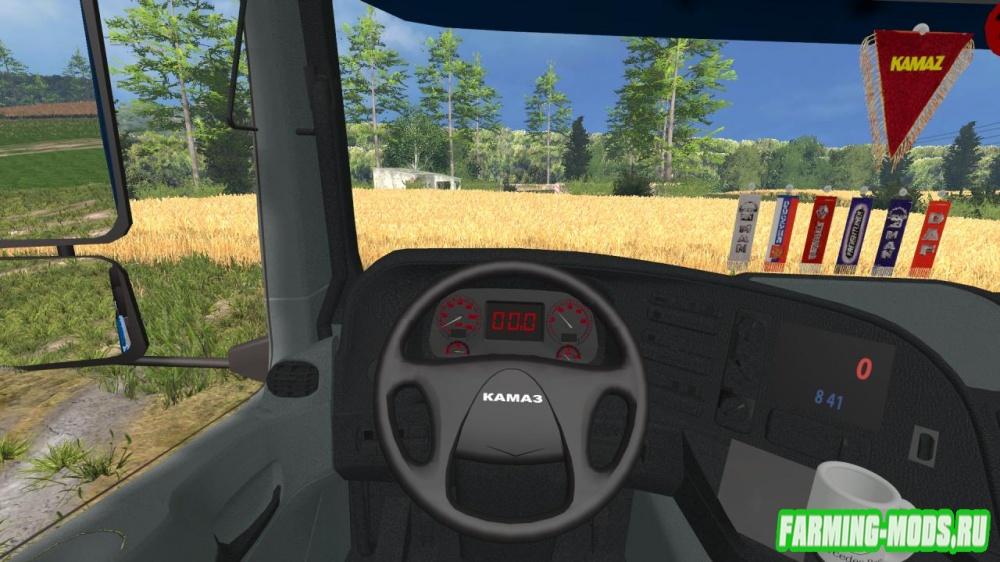 "Мод ""КамАЗ 40С BESTLOG v2"" для Farming Simulator 2015"