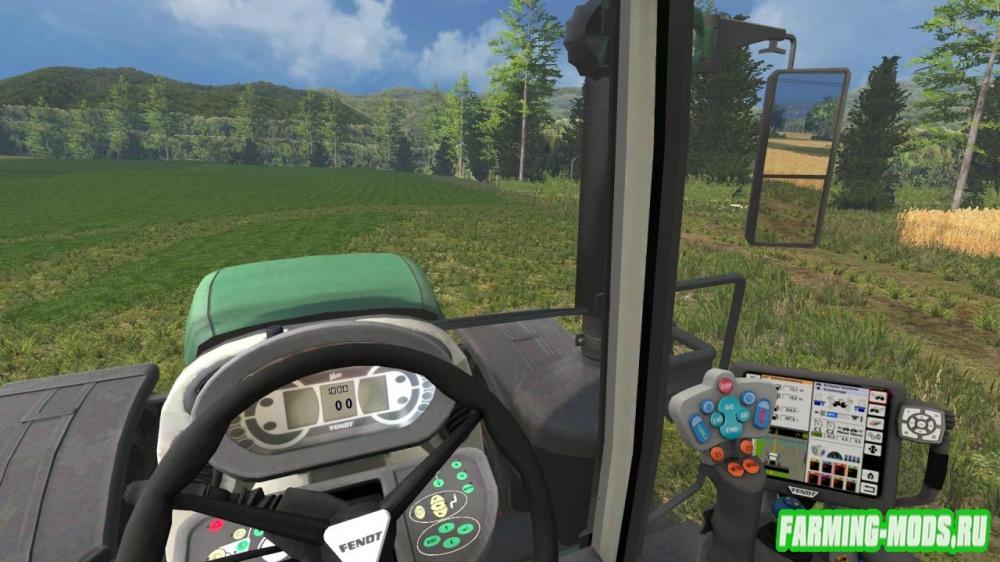 """Мод """"Fendt 936 Vario Final"""" для Farming Simulator 2015"""
