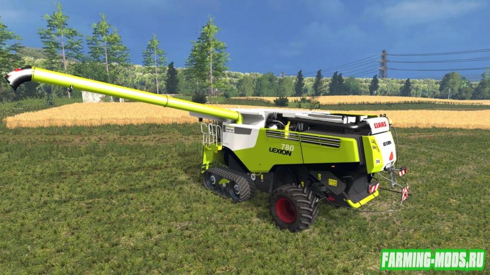 "Мод ""Claas Lexion 780 Century Edition v2.0"" для Farming Simulator 2015"