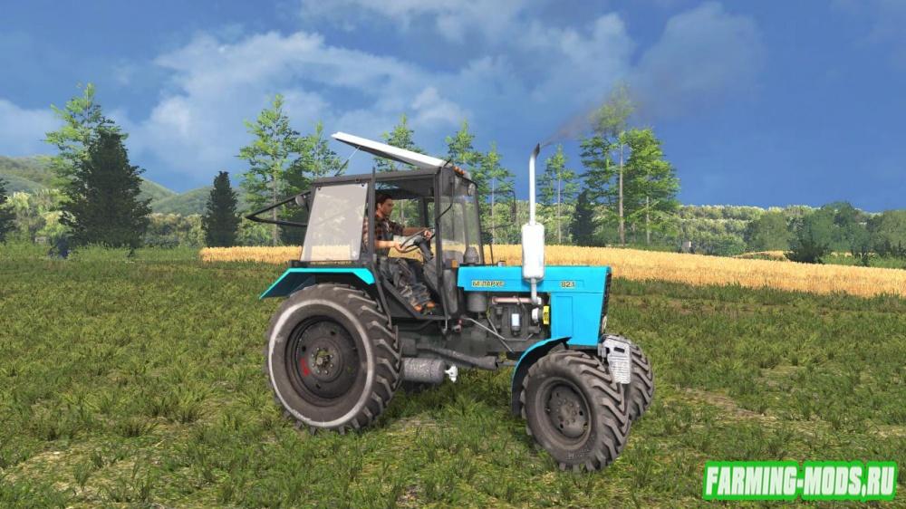 "Мод ""МТЗ 82.1 Беларус"" для Farming Simulator 2015"